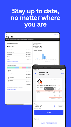 Simple Invoice Maker - Easy Estimate & Invoice App apktram screenshots 8