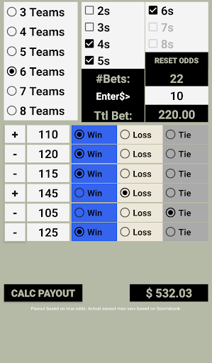 Download arbitrage betting calculator round robin