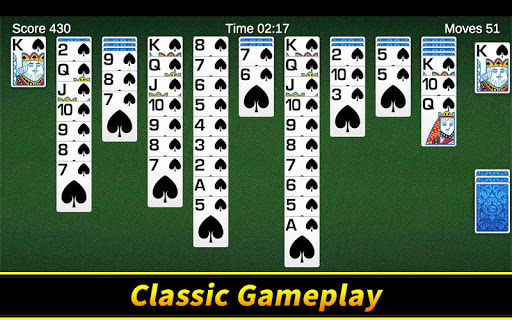 Spider Solitaire apkpoly screenshots 6