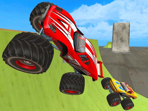 crazy monster speedy truck racing game 2 screenshots 2