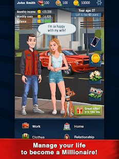 Hit The Bank: Career, Business & Life Simulator Screenshot