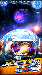 """Download Space Warrior: The Origin """"Space Warrior"""" action game for Android + mode + data 2"""