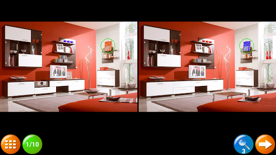 Find the Differences Rooms Screenshot