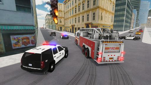 Fire Truck Driving Simulator 1.34 Screenshots 2