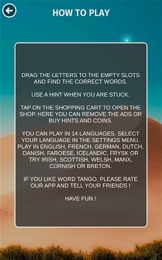 Word Tango :  a fun new word puzzle game  screenshots 18