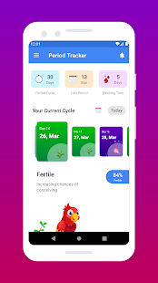 Period Tracker - Fertility & Ovulation Calendar