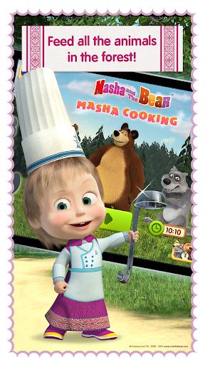 Masha and Bear: Cooking Dash 1.3.8 Screenshots 4