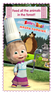 Masha and Bear: Cooking Dash MOD (Paid Characters Unlocked ) 4
