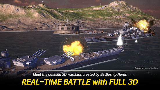 Warship Fleet Command : WW2 Naval War Game 2.01803 Screenshots 11