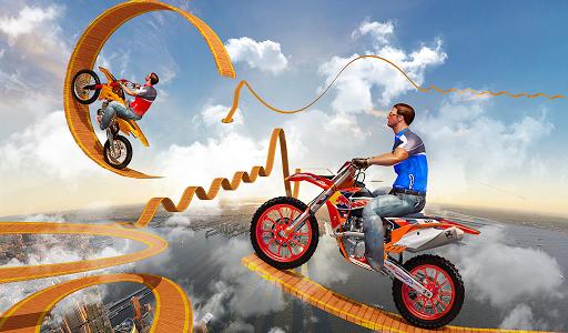 Bike Tricks Trail Stunt Master -Impossible Tracks 11 screenshots 7