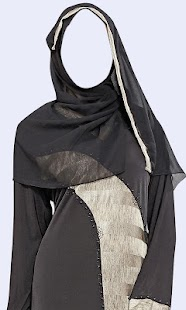 Burqa Women Photo Suit Screenshot