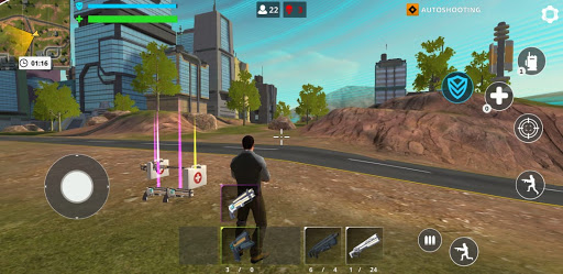 Cyber Fire: Free Battle Royale & Shooting games 2.2.3 Screenshots 15