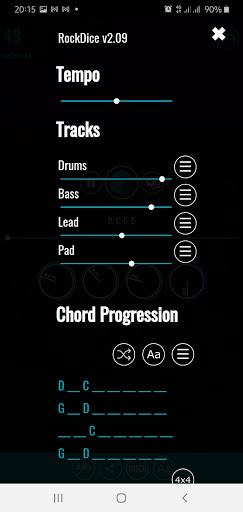 RockDice Chord Progression hack tool
