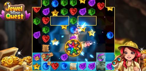 Jewel Mine Quest: Match-3 puzzle 1.1.7 screenshots 1