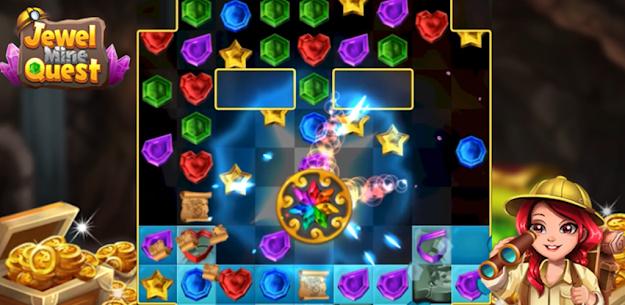 Jewel Mine Quest: Match-3 puzzle 1