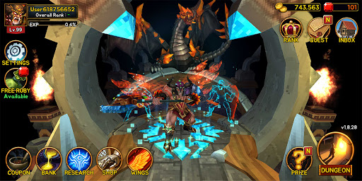 Death Dungeon : Demon Hunting RPG 1.8.74 screenshots 3