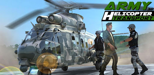 Screenshot of Army Helicopter Transporter Pilot Simulator 3D