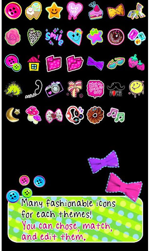 Cute Theme-Deco Pop- For PC Windows (7, 8, 10, 10X) & Mac Computer Image Number- 8