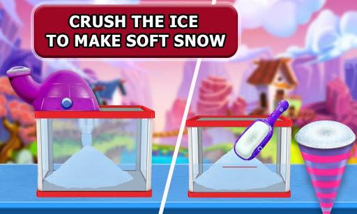Snow Rainbow Ice Cone Maker: Icy Candy fun 1.0.9 screenshots 1