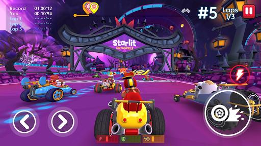 Télécharger gratuit Starlit On Wheels: Super Kart APK MOD 2