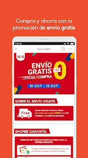 Shopee CO 10.10 Festival 2.77.30 APK screenshots 3