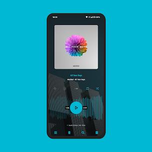 Aurora – Material Poweramp v3 Skin MOD (Paid) 5