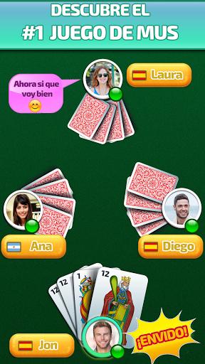 Mus Maestro - juego de mus / naipes /cartas online 1.24 screenshots 1