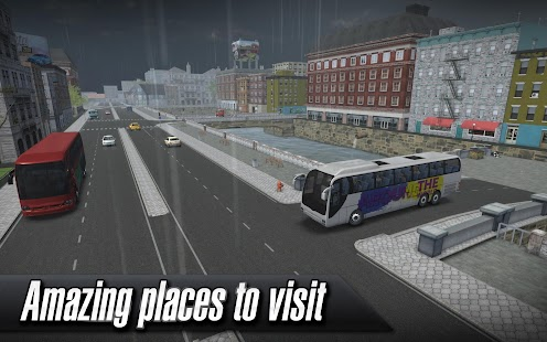 Coach Bus Simulator Screenshot