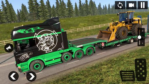American Truck Driving Simulator: Cargo Truck Game  screenshots 5