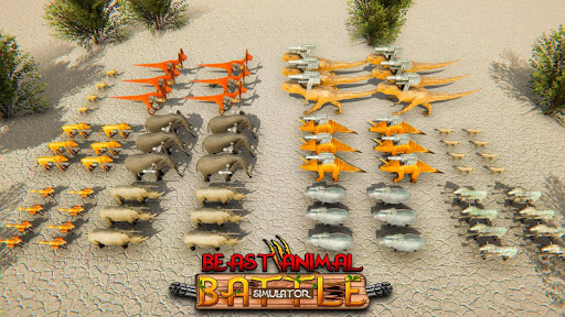 Beast Animals Kingdom Battle: Dinosaur Games 2.6 screenshots 6