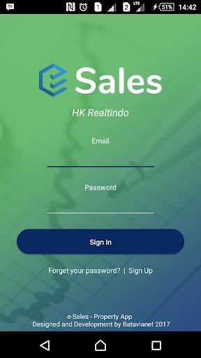 eSales HK Realtindo 1.3.31 screenshots 1