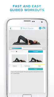 Back Doctor (FREE) Health, Stretch, Workout