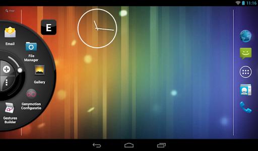Wheel Launcher a free customizable sidebar screenshots 9