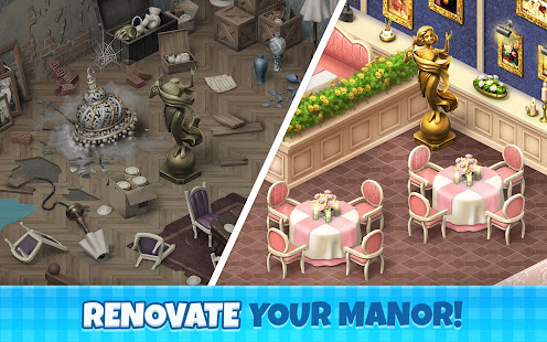Manor Cafe 1.111.3 APK + Мод (Unlimited money) за Android
