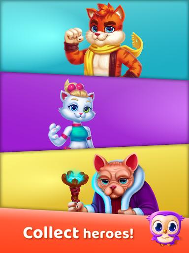 Cat Heroes: Puzzle Adventure 45.5.1 screenshots 8