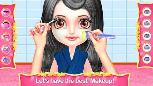 Télécharger Cute Girl Fashion Makeover Spa: Jeu de maquillage APK MOD (Astuce) screenshots 2