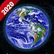ライブ 地球 マップ2020 -衛星& 通り 表示する アプリ