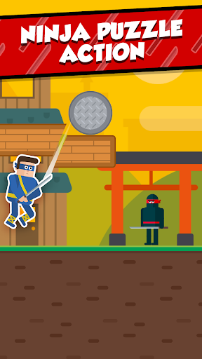 Mr Ninja - Slicey Puzzles screenshots 1