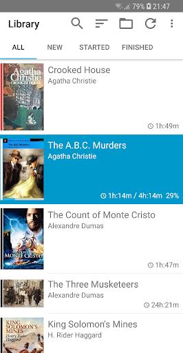 Smart AudioBook Player Apkfinish screenshots 5