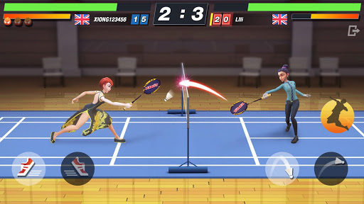 Badminton Blitz - Free PVP Online Sports Game screenshots 1