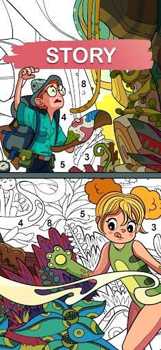 Art Games : Color by number 1.0.0 screenshots 8