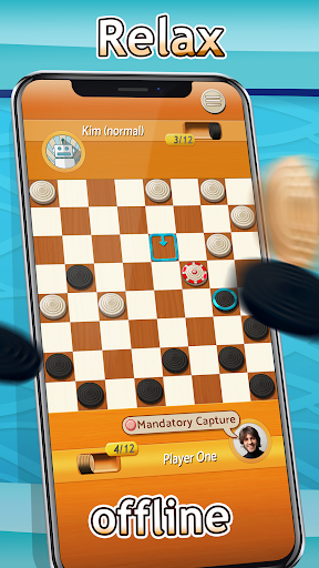 Checkers - Draughts Multiplayer Board Game 3.0.9 screenshots 2