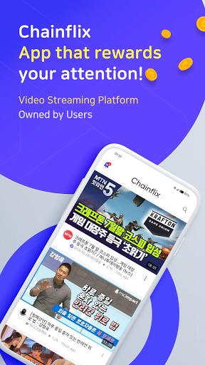 Chainflix u2013 Watch Videos & Earn Coins! android2mod screenshots 1