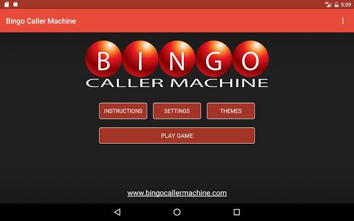 Bingo Caller Machine (free Bingo Calling App)  Screenshots 22