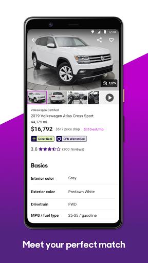 Cars.com u2013 New & Used Vehicles apktram screenshots 4