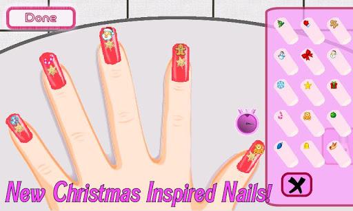 a-list girl ★ christmas nails screenshot 2