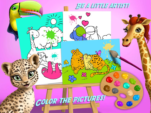 Baby Jungle Animal Hair Salon - Pet Style Makeover 4.0.10005 Screenshots 14