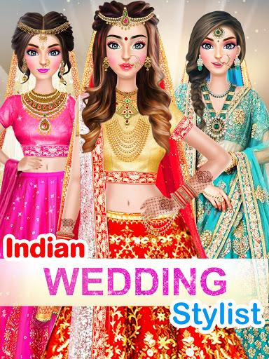 Indian Wedding Stylist - Makeup &  Dress up Games 0.17 screenshots 9