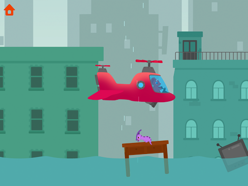 Dinosaur Helicopter - Games for kids  screenshots 14