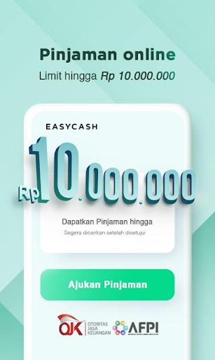 Easycash - Pinjaman uang online cepat cair  screenshots 1